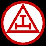 Image of a triple tau, the symbol or Royal Arch Freemasons