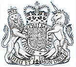 Royal lodge logo, which is a lion and unicorn